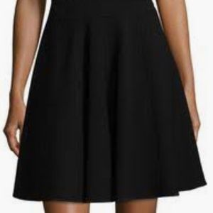 Rebecca Taylor skirt size 2 black. Side zip